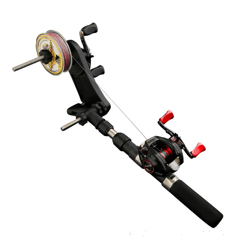 Fishing Line Spooler Winder Portable Reel Spool Spooling Station System For Spinning Or Baitcasting Fishing Reel Line New