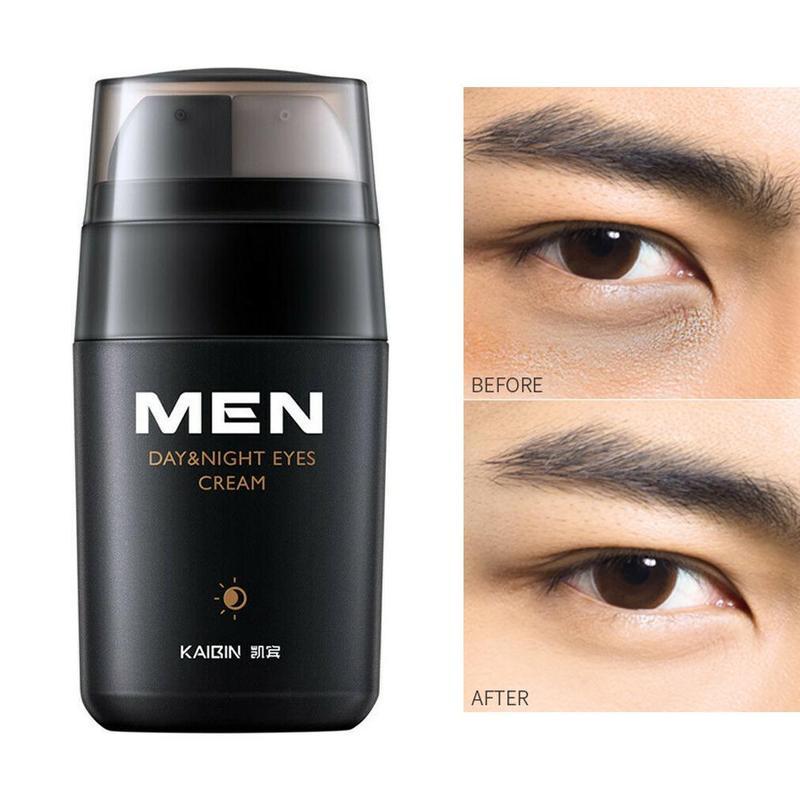 Men Day And Night Eye Cream Anti-wrinkle Firming Eye Cream Skin Care Black Eye Puffiness Fine Lines Wrinkles Eyey Care Product image