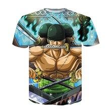 One Piece Luffy 3D print Men Women Short sleeve Fashion Hip Hop funny tshirt anime T-shirts Casual Clothes Summer T Shirts