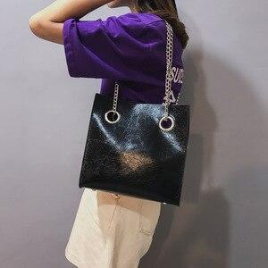 Image 3 - Big Bag Womens Summer New Style Fashion Large Volume Chain GIRLS Versatile Crossbody Bag shoulder bag  luxury handbags
