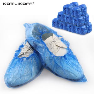 Shoes Cover Case Disposable Plastic Anti Droplet Dust Rain Shoe Covers Waterproof Cleaning Overshoes Protective Pouch