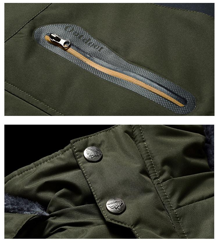 Winter Fleece Military Hiking Jackets Coat (14)