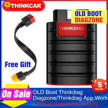 Diagzone eski çizme thinkdiag profesyonel otomotiv tarayıcıları Thinkdiag OBD2 teşhis araçları PK easydiag OBD2 tarayıcı