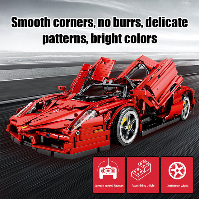 2615pcs Creator Remote Control Sports Car Building Blocks for Technic RC/non-RC Racing Car City MOC Bricks Toys for Kids