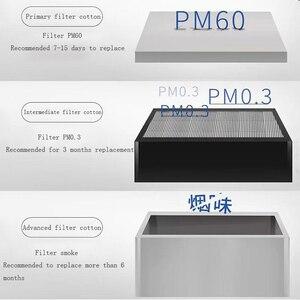 Image 5 - UYUE lehimleme dumanı dumanı çıkarıcı 3 katmanlı filtre egzoz endüstriyel arıtma cihazı lazer ayırma makinesi