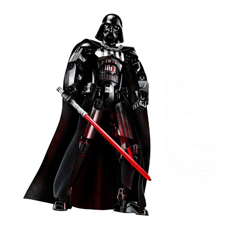Star Wars Boba Fett Darth Maul Kylo Stormtrooper Phasma Ren Rey Vader Model Assemble Figure Construction Toys For Children 27