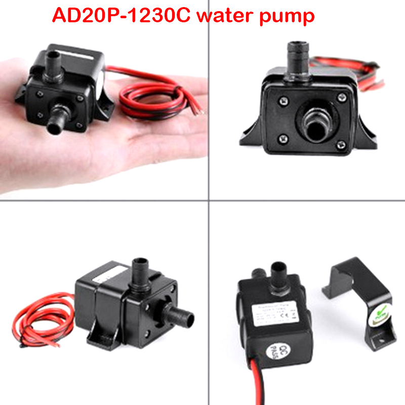 Hot Selling High Quality Garden Ultra Quiet DC 12V 3M 240L/H Mini Brushless Solar Motor Submersible Pool Water Pump
