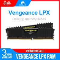 CORSAIR Vengeance de memoria RAM LPX 1 GB 2GB 4GB 8GB 16GB 32GB DDR4 PC4 2400Mhz 2666Mhz 3000Mhz 3200Mhz para PC de escritorio de memoria RAM DIMM