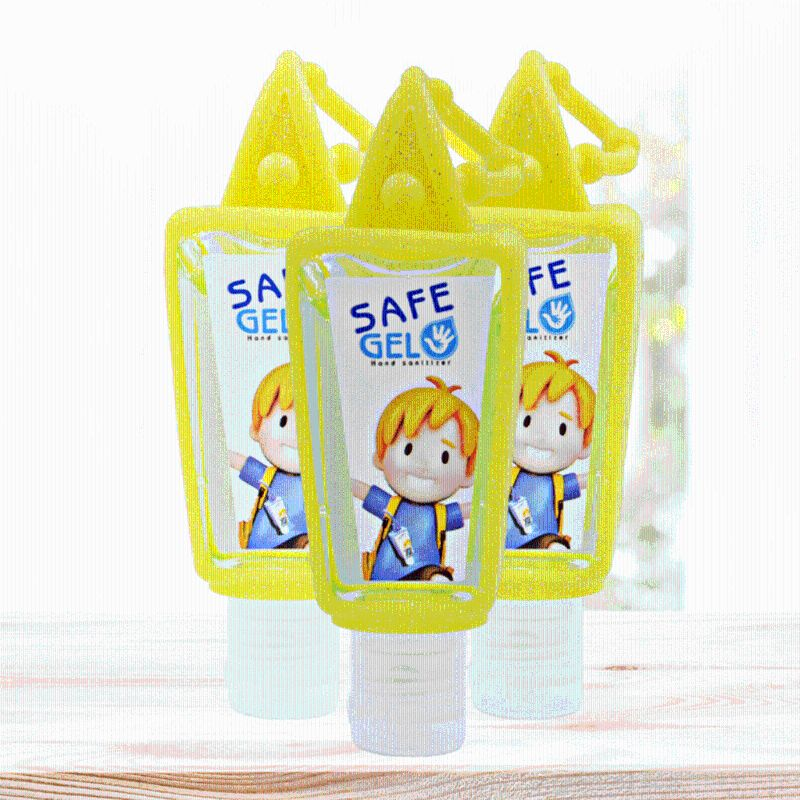 Hand Sanitizer Fruit Scented Disposable No Clean Travel Portable Clean Moisturizing Safe Gel With Hanging Rope 30ML