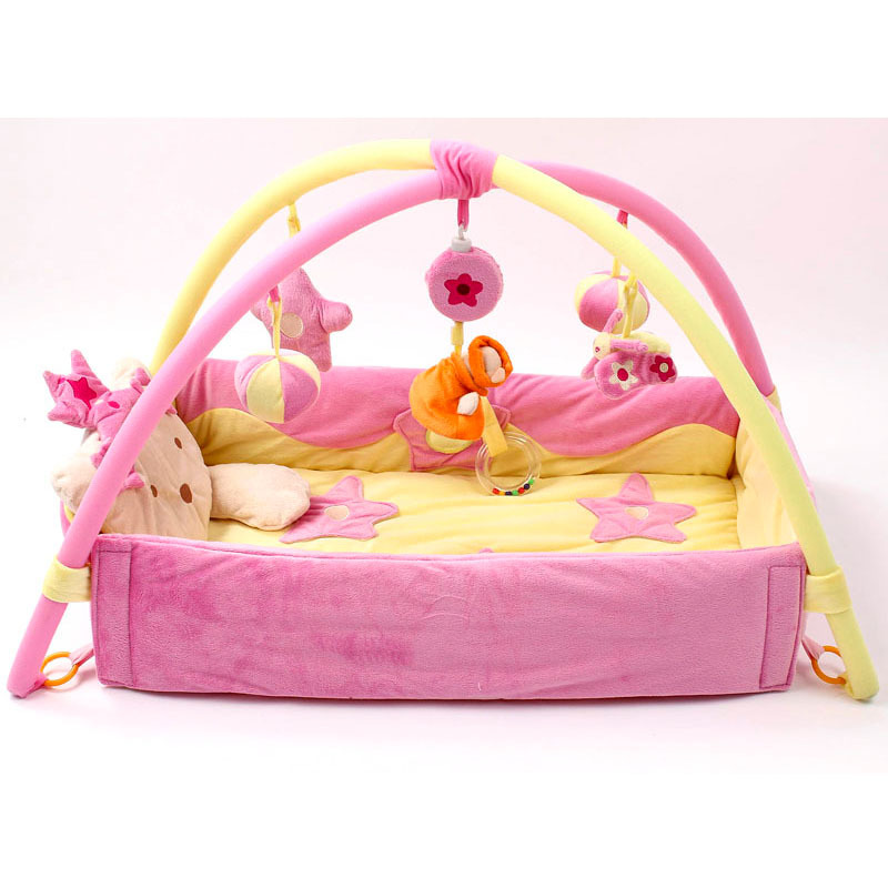 Tapis de jeu pour bébé tapis pour enfants tapis de Puzzle éducatif avec clavier de Piano et tapis de jeu mignon pour animaux - 4