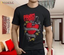 New Popular Panic at The Disco This is Gospel Mens Black T-Shirt Size  100% Cotton Short Sleeve O-Neck Tops Tee Shirts 2019