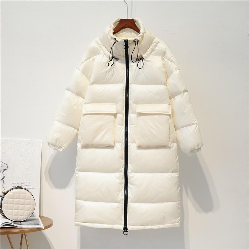 Fashion Winter Down Jacket Women Clothes 2019 Korean Brand Light Duck Down Coat Female Thick Warm Down Parka Hiver LW1627