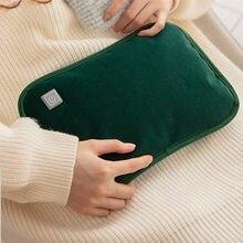 Mão mais quente usb almofada de aquecimento elétrico grafeno saco quente inverno roupas térmicas aquecedor automação recarregável garrafa água quente
