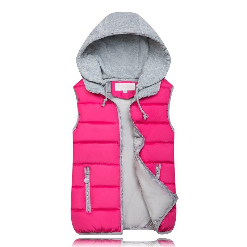 Hf9071cf146a149db8add57b4fbae3b76X 2019 Winter Coat Women Hooded Warm Vest Plus Size Candy Color Cotton Jacket Female Women Wadded Feminina chalecos