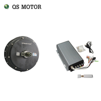 QS Motor Bicycle Spoke motor 3000W 205 (50H) V3 Type Hub Motor with SVMC72150 controller 72V 80 100km/h customize speed|Motors|Automobiles & Motorcycles -