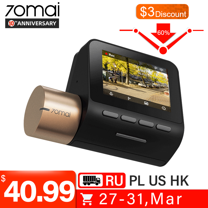 70MAI Car DVR Cam-Lite Parking-Monitor Wifi Night-Vision Speed-Function 1080P 24H GPS title=