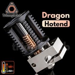 Trianglelab Drachen Hotend Super präzision 3D drucker extrusion kopf Kompatibel mit V6 Hotend und moskito Hotend adapter