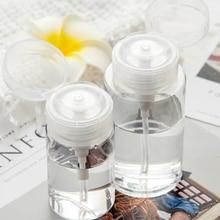 3 шт пустая бутылка давления прозрачный портативный аппендицит к алкоголю лак для ногтей Для Снятия Макияжа жидкость очищение хлопок макияж инструменты