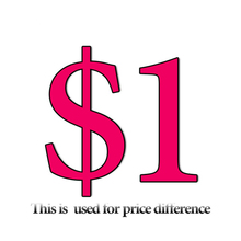 Supplementary Postage Fees, Supplementary Order Fees or Other Price Difference