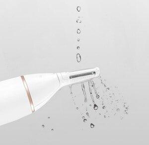 Image 4 - Xiaomi Soocas IPX5 su geçirmez burun kaş saç düzeltici keskin bıçak vücut yıkama Minimalist tasarım güvenli temizleyici Trim kişisel günlük