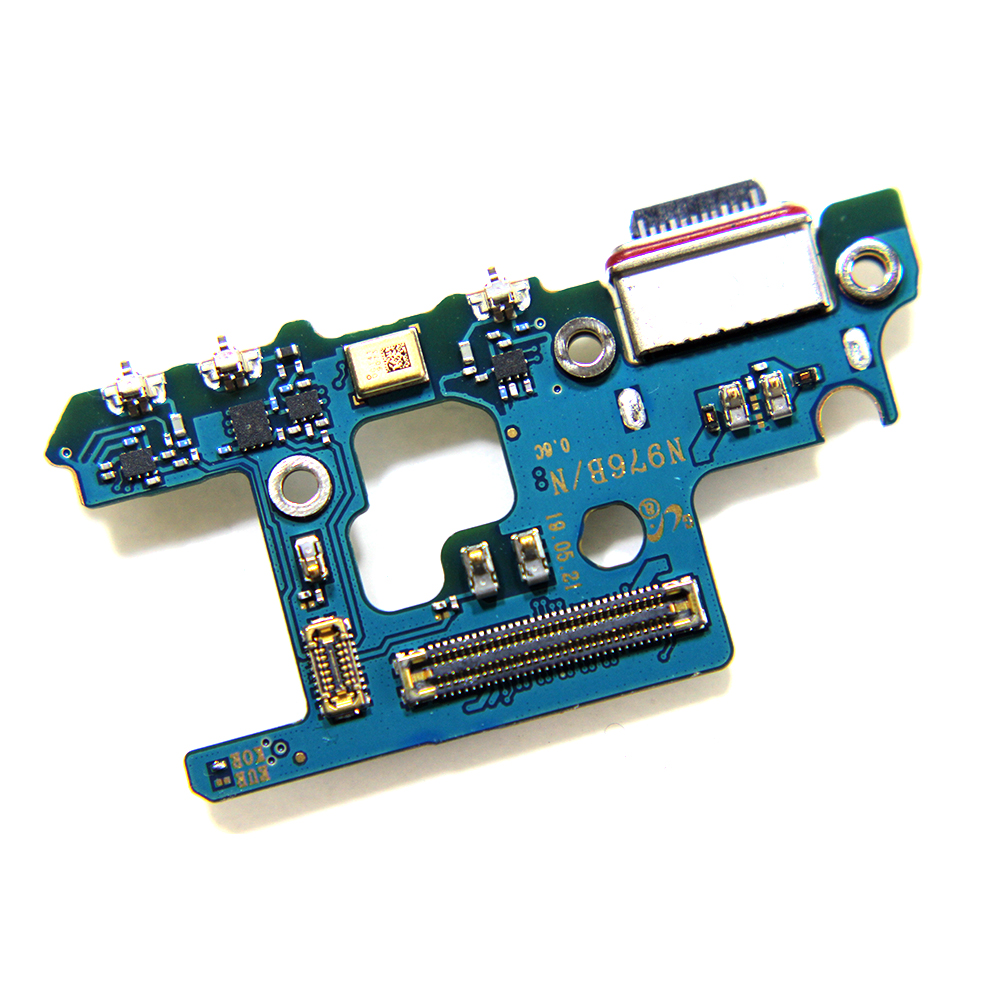 Original USB Charging Port Dock Connector Flex Cable For Samsung Note10+ Note 10 Plus N976B/N N976V Ribbon Part