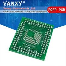 5PCS FQFP TQFP 32 44 64 80 100 LQFP zu DIP Transfer Board DIP Pin Board Pitch Adapter