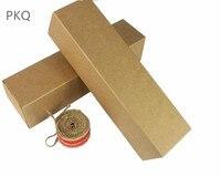 50pcs Super Long Cardboard Packaging Box Kaft Paper Carton For Wine Bottle DIY Craft Box Gift Package 7*7*28cm
