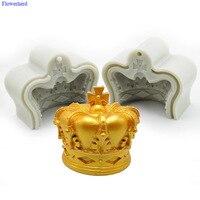 Large Three dimensional Crown Silicone Fondant Cake Mold Mousse Mold Cake Baking Chocolate Mold Birthday Wedding Decoration