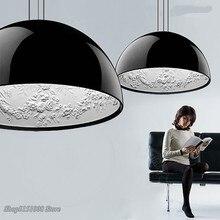 Современный светодиодный подвесной светильник из смолы s Sky Garden, скандинавский подвесной светильник для столовой, спальни, гостиной