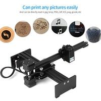 Desktop Laser Engraver Portable Engraving Carving Machine Mini Carver DIY Laser Logo Mark Printer Working Area 170*200mm