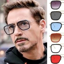 Iron Man 3 Avengers Tony Stark Men Oversized Sunglasses Shad