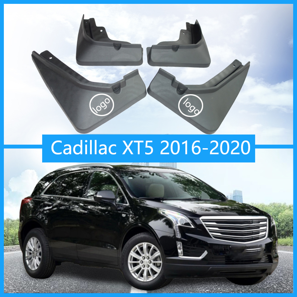 A-Premium Splash Guards Mud Flaps Mudflaps for Cadillac XT5 2016-2017 Front and Rear 4-PC Set
