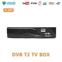 DVB T2/T H.265 Decoder HD Digital Terrestrrial tv  receiver support Dolby AC3 Youtube USB 2.0 MPEG 4 HEVC TV dvbt Tuner receiver