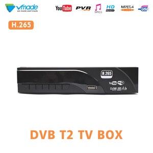 Image 1 - DVB T2/T H.265 Decoder HD Digital Terrestrrial tv receiver unterstützung Dolby AC3 Youtube USB 2.0 MPEG 4 HEVC TV dvbt tuner receiver