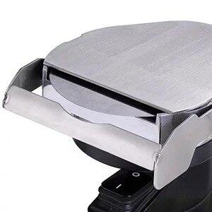 Image 4 - חשמלי מבצע קבאב דונר סכין שווארמה קאטר כף יד צלי בשר חיתוך מכונת ג יירו סכין 220 240V 110V שני להבים