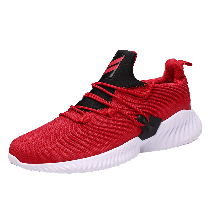 High Quality Casual Shoes Men Breathable Comfortable On-slip Mesh Sneakers Men Lightweight Mens Shoes Casual Lace-up 46 Zapatos