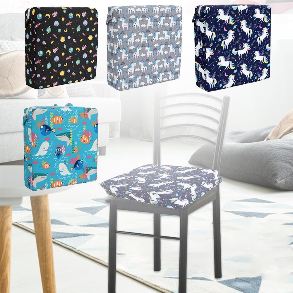 Baby Kids Highchair Cushion Pad Mat Booster Seats Cushion Pad Mat Feeding Chair Cushion Pad Stroller Cushion Mat