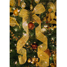 Рождественская вечеринка Рождественская елка звезда украшения 2 м мишура висячие украшения для нового года estrella arbol navidad