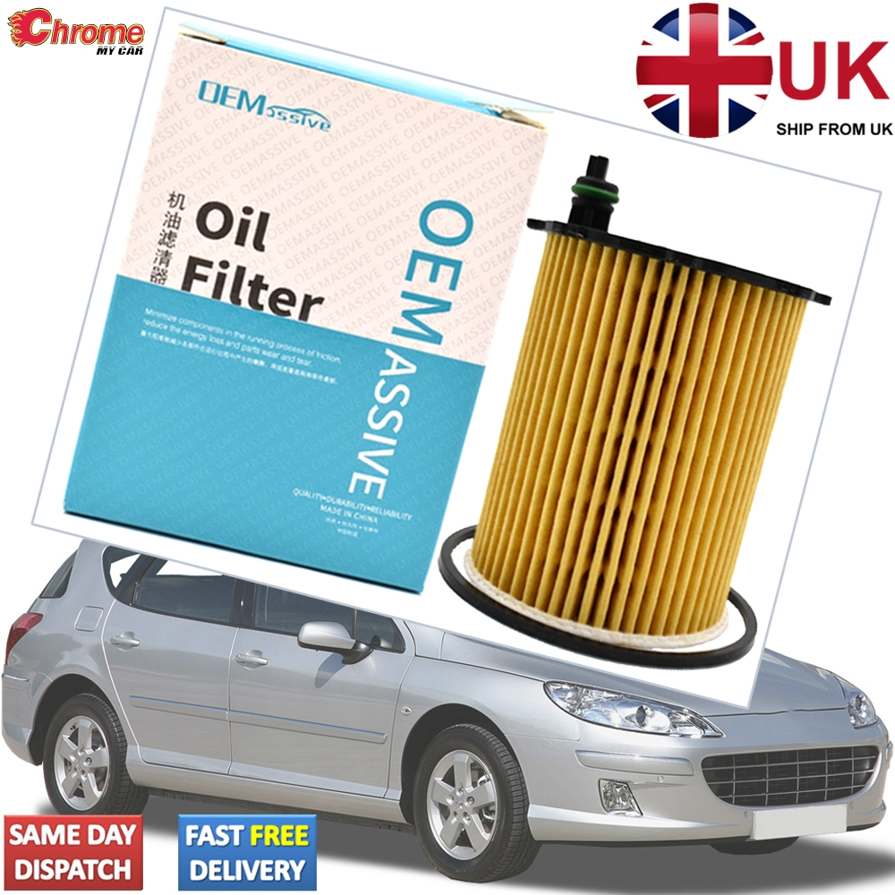 Peugeot 1007 1.4 HDi 1398CC Diesel Oil Air Filter 2005-2010 Service Kit