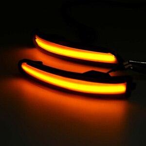 Image 5 - 2Pcs רכב Rearview מירור הפעל אות אור עבור פורד פוקוס 2 3 Mk2 Mk3 מונדיאו Mk4 LED חיווי דינמי נצנץ Streamer אורות