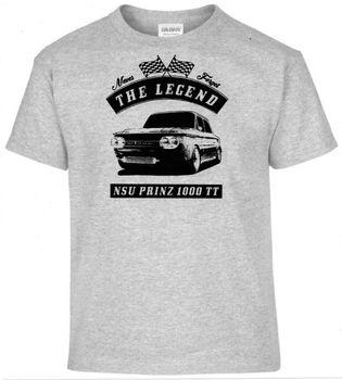 T-Shirt, NSU Prinz 1000 TT, Car, OLDTIMER, YOUNGTIMER