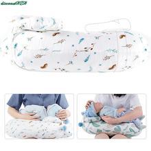2Pcs/Set Baby Nursing Pillows Maternity Baby Breastfeeding Pillow Infant U-Shaped Newborn Cotton Feeding Waist Cushion