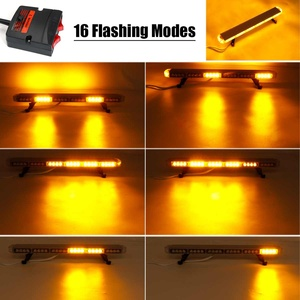 "Image 4 - 22"" to 45.6"" Car Led Strobe Flash Warning Light Bar Roof Beacon Flashing Emergency Trucks Beacons Trailer  Engineering vehicle"
