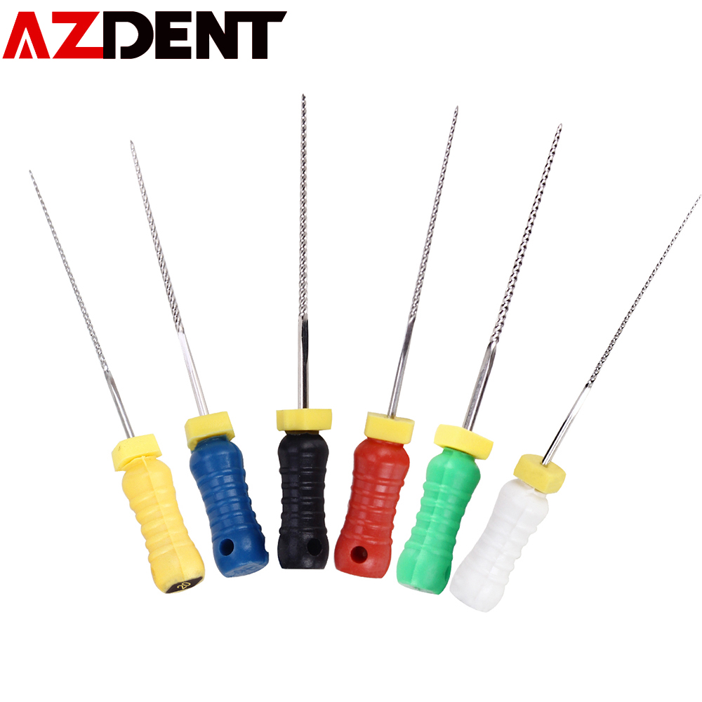 21mm K- Files Stainless Steel Root Canal File For Hand Use
