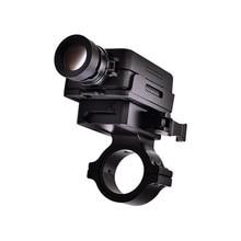Gümrükleme RunCam 2 olarak Airsoft sürüm HD WiFi FPV kamera FPV Drone Rc uçak pil ile siyah 16mm /35mm Lens