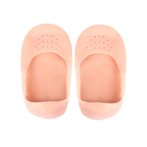 1 пара силиконовые стельки увлажняющие носки педикюр каблуки Защитная против трещин носки геля стельки корректор шишки на большом пальце разделители для пальцев ног