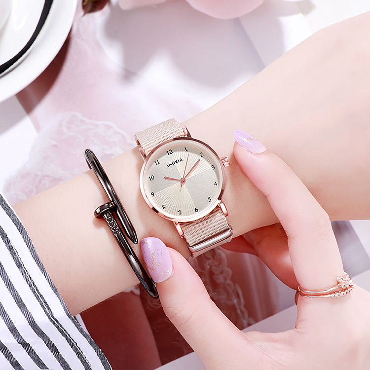 Girls Watch Kid Watch Children Watches Simple Textile Strap Hour Fashion Kids Watches Gift For Girls Clock JBRL Relogio Infantil