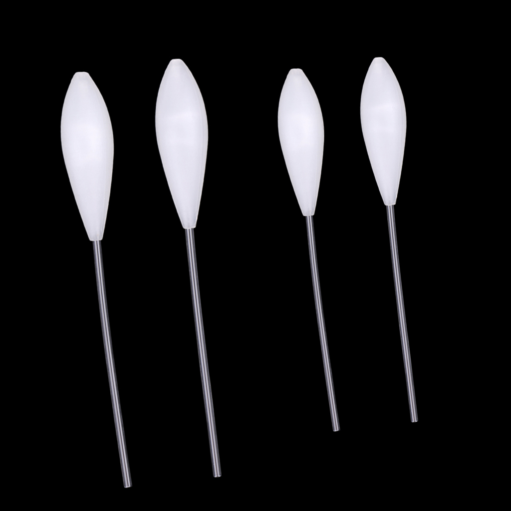 4pcs Acrylic Floating Spirolino Bombarda Fishing Float For Casting Lures Or Flies To A Long Distance