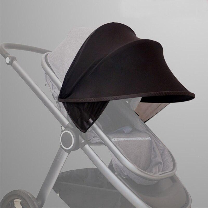 תינוק עגלת מגן שמש מרכבת שמש צל חופה כיסוי עבור עגלות עגלת אביזרי רכב מושב באגי Pushchair כובע עגלת סוככים
