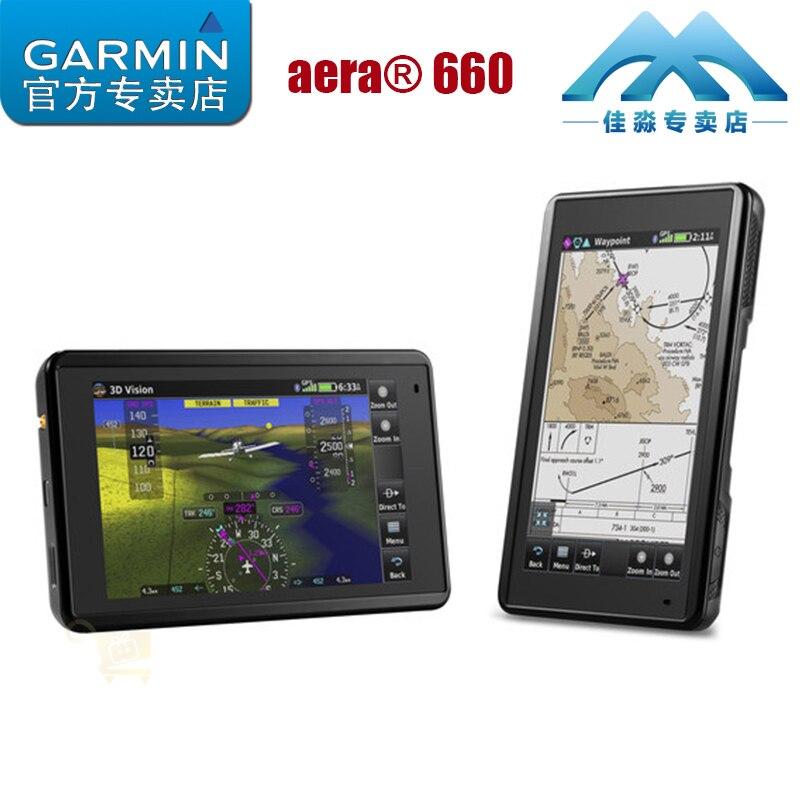 Garmin Jiaming aera 660 Aircraft Pilot Personal Aircraft Portable High Definition Touch GPS Navigator
